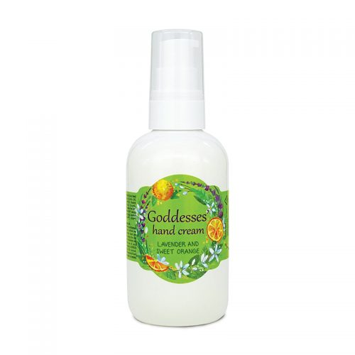 Goddesses Lavender and Orange hand cream