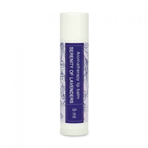 Aromatherapy lip balm Serenity of Lavenders
