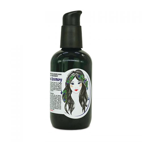 Aromama Strengthening oil-based hair and scalp treatment Fabulous Rosemary
