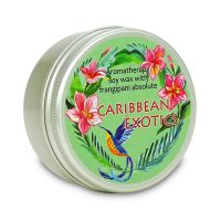 Aromatherapy soy wax candle Caribbean Exotics