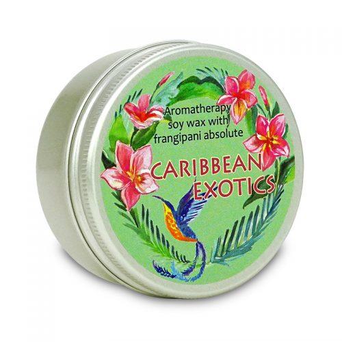 soy wax candle Caribbean Exotics