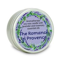 Aromatherapy soy wax candle The Romance in Province
