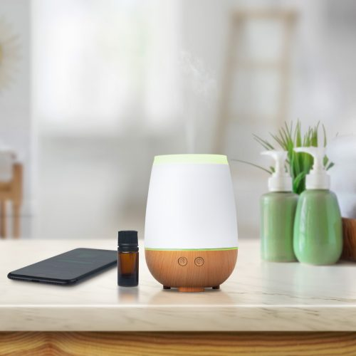 Essential Oil Diffuser with integrated Bluetooth speaker